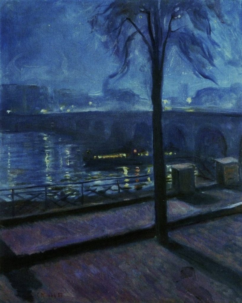 La Seine à Saint-Cloud d'Edvard Munch