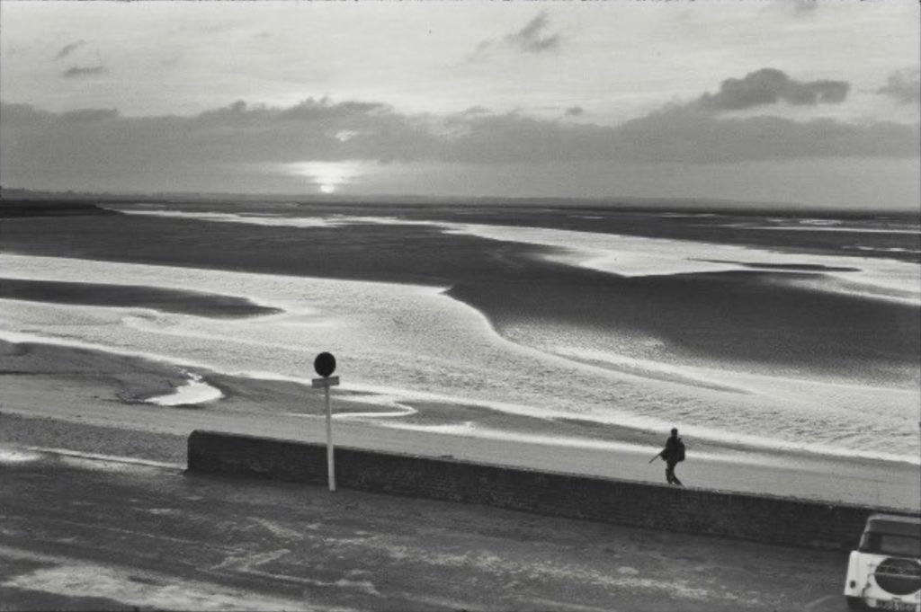 Baie de Somme par Henri Cartier-Bresson