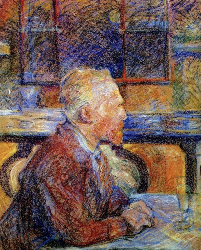 Henri de Toulouse-Lautrec, Portrait de Vincent Van Gogh