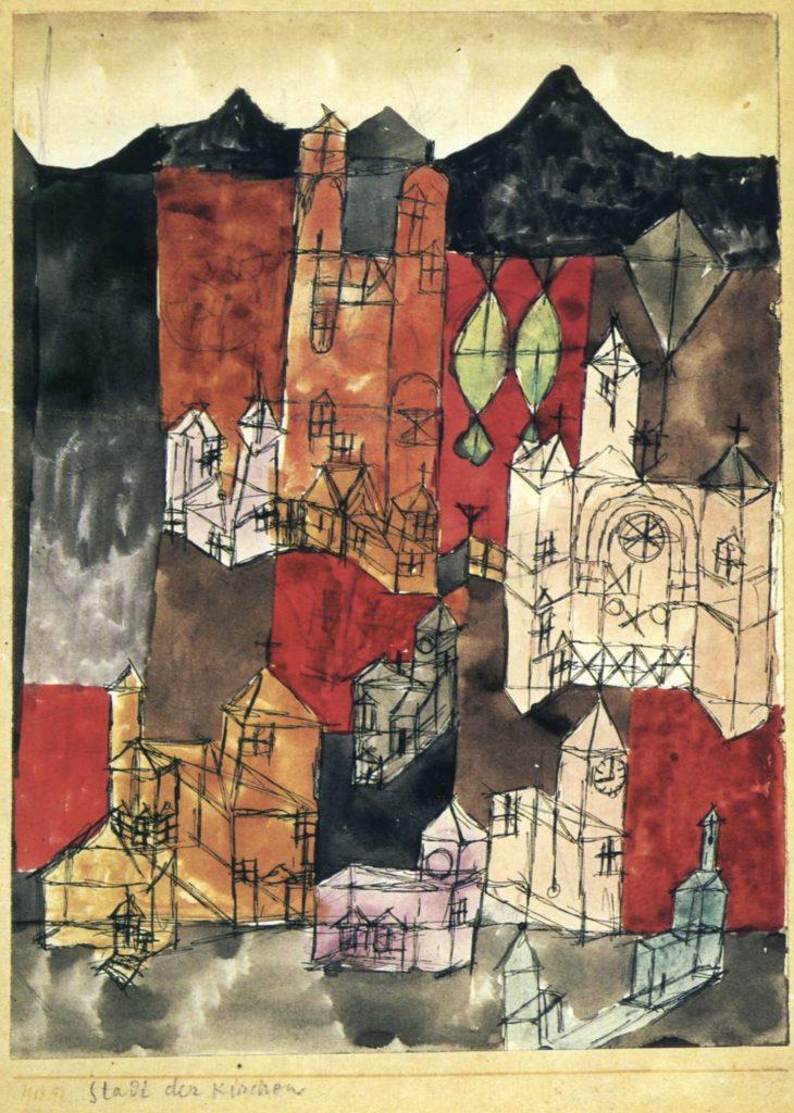 Ville d'église de Paul Klee