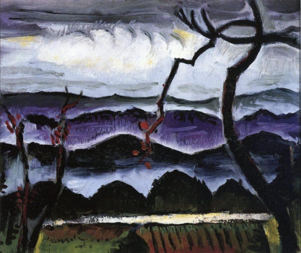 Collines, tableau de Man Ray