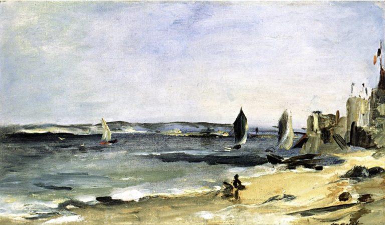Paysage maritime à Arcachon d'Edouard Manet