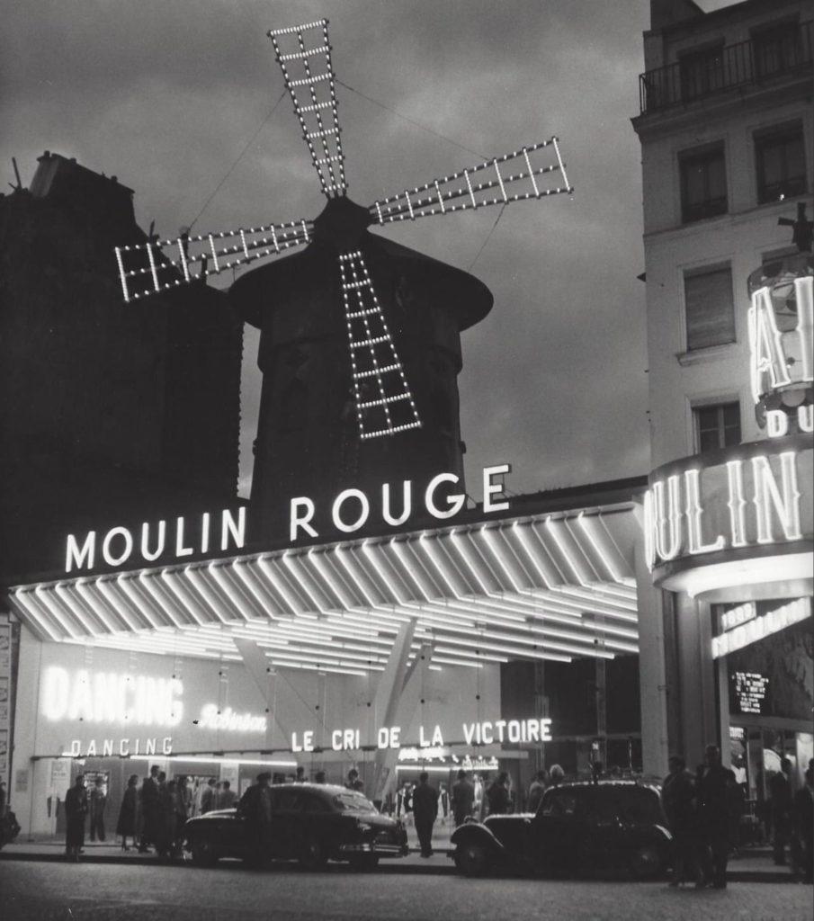 Le Moulin Rouge, Paris par Kees Scherer