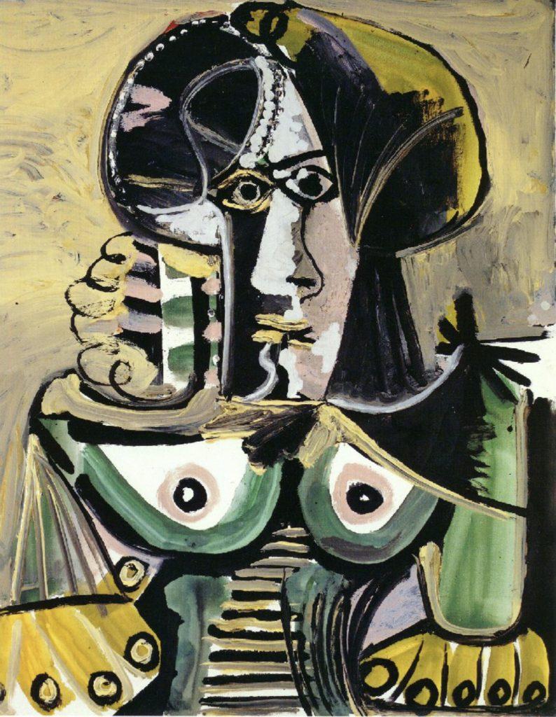 Buste de femme de Pablo Picasso