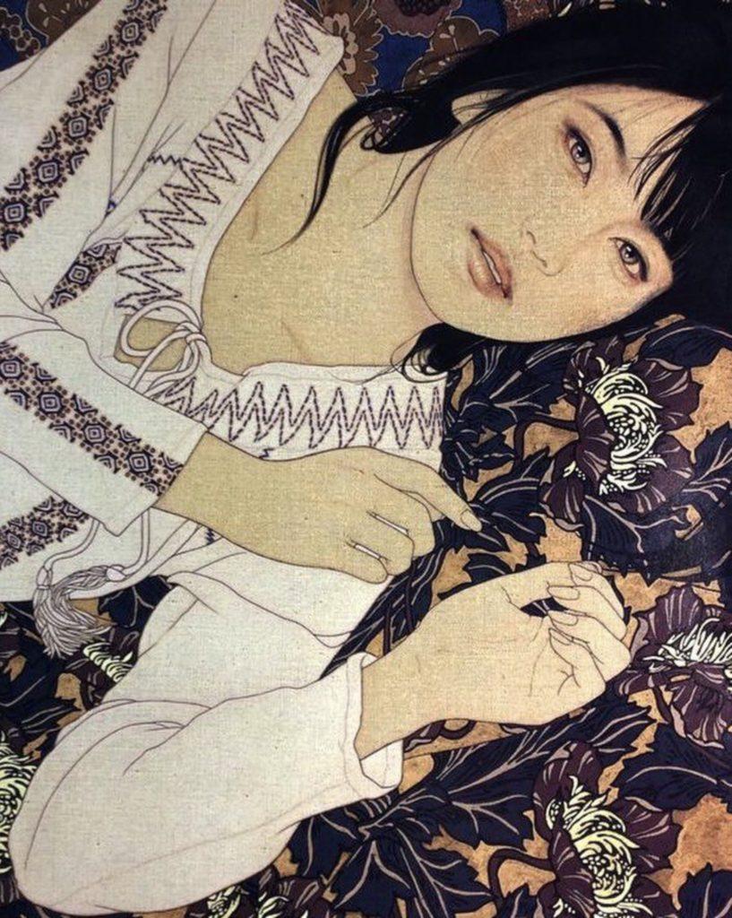 Tableau de Yasunari Ikenaga