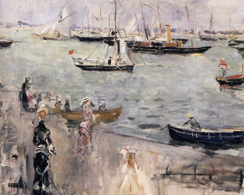 L'île de Wight par Berthe Morisot