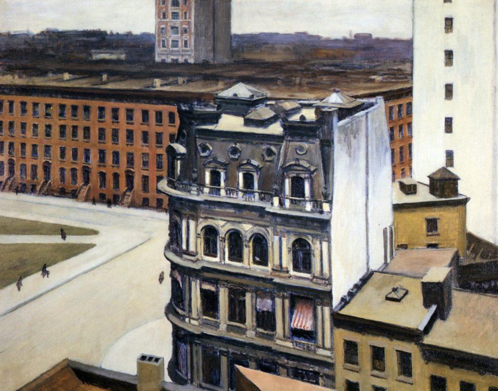 La ville par Edward Hopper