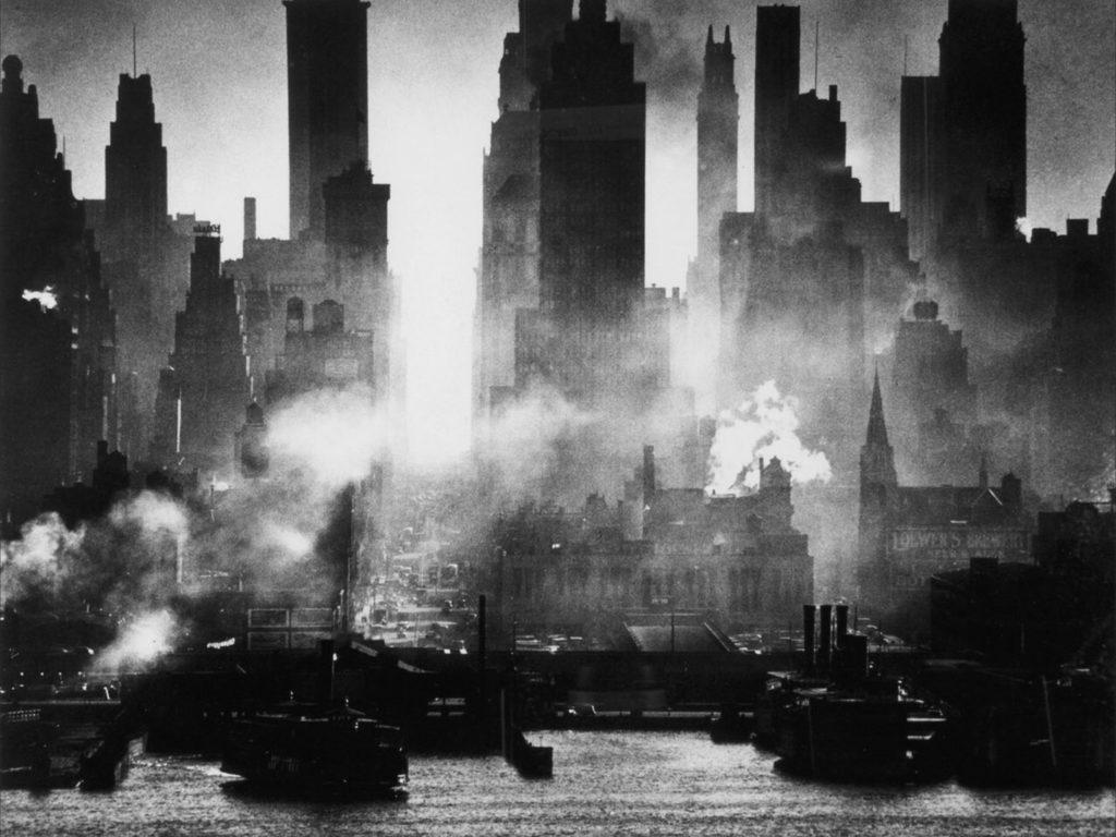 Le port de New York, 42ème rue (1946) d'Andreas Feininger