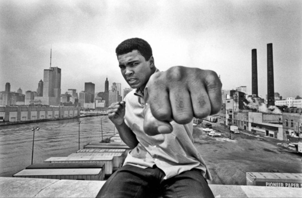 Portrait de Muhammad Ali par Thomas Hoepker
