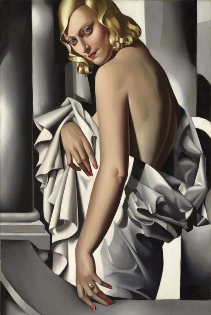 Portrait de Marjorie Ferry par Tamara de Lempicka