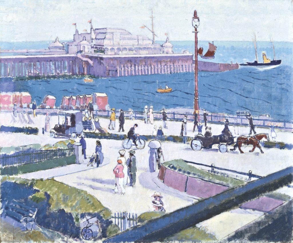 Brighton Pierrots de Walter Sickert