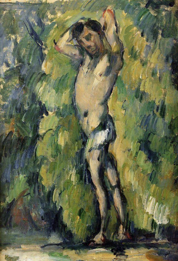 Baigneur de Paul Cézanne