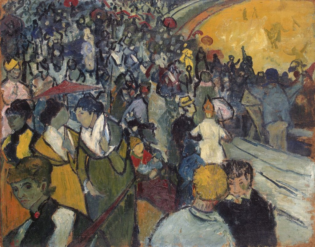 Les arènes d'Arles de Vincent Van Gogh