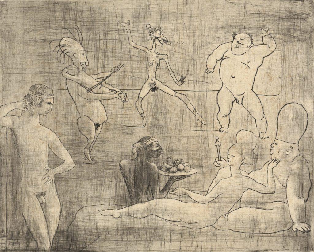 La danse barbare de Pablo Picasso