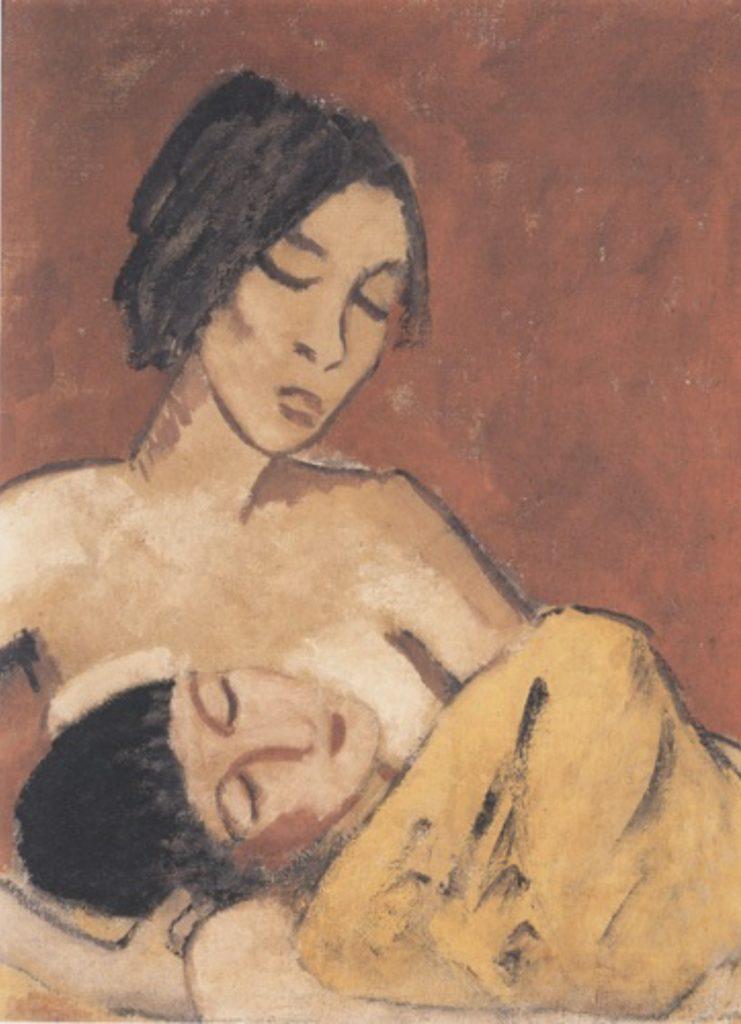 Mère et fils d'Otto Mueller