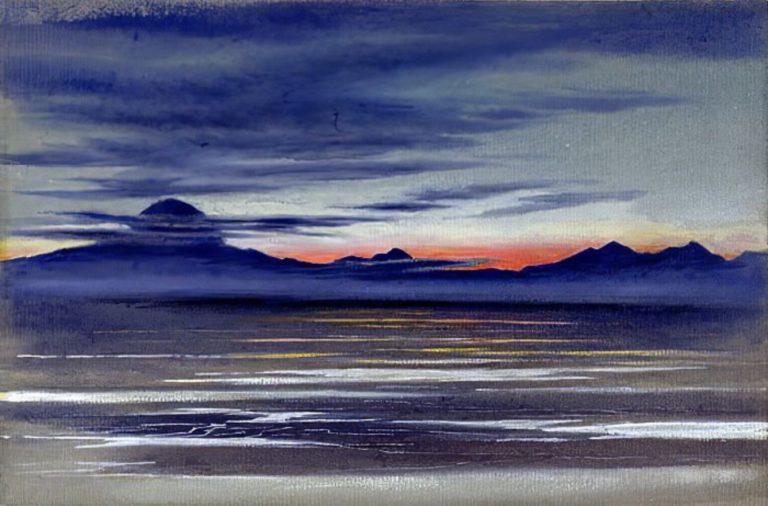 Vue d'une étendue de mer (environ d'Edward Adrian Wilson
