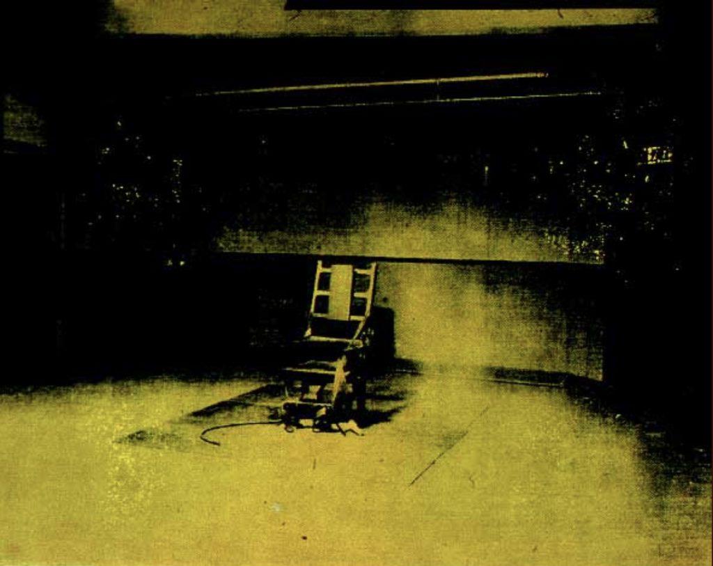Chaise électrique d'Andy Warhol