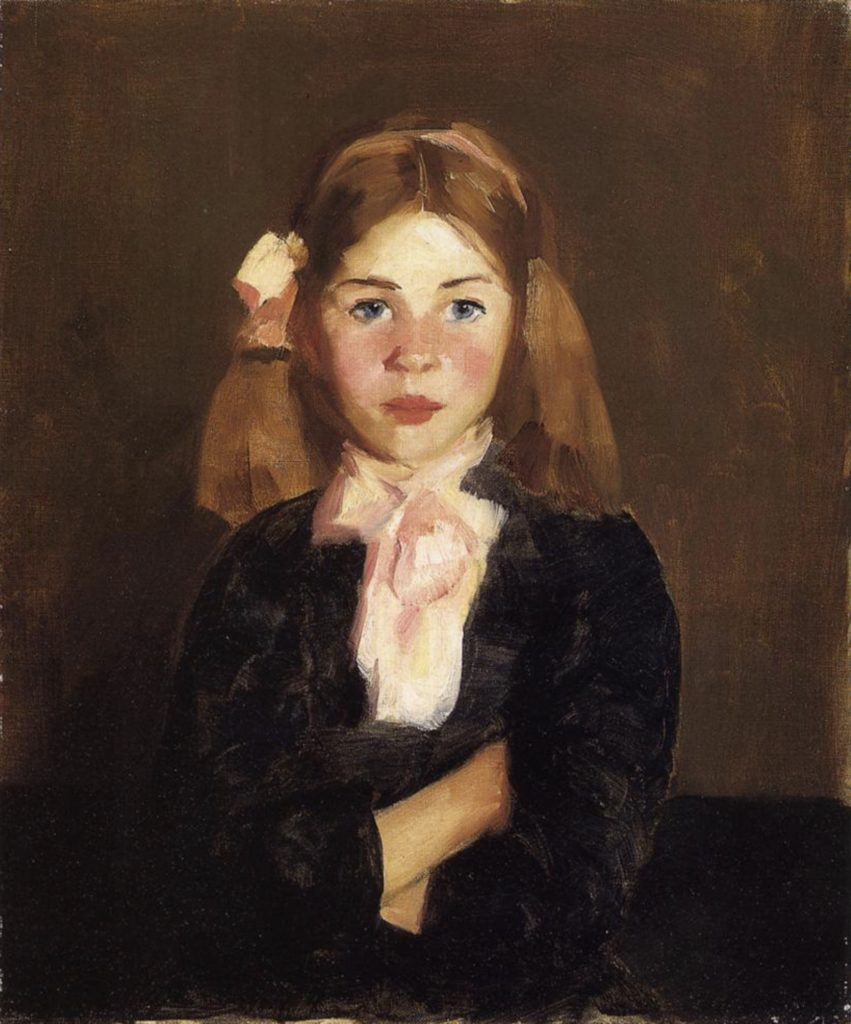 Nora en 1913 par Robert Henri