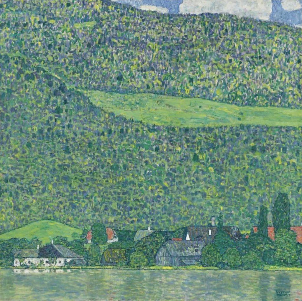 Litzlberg am Attersee de Gustav Klimt