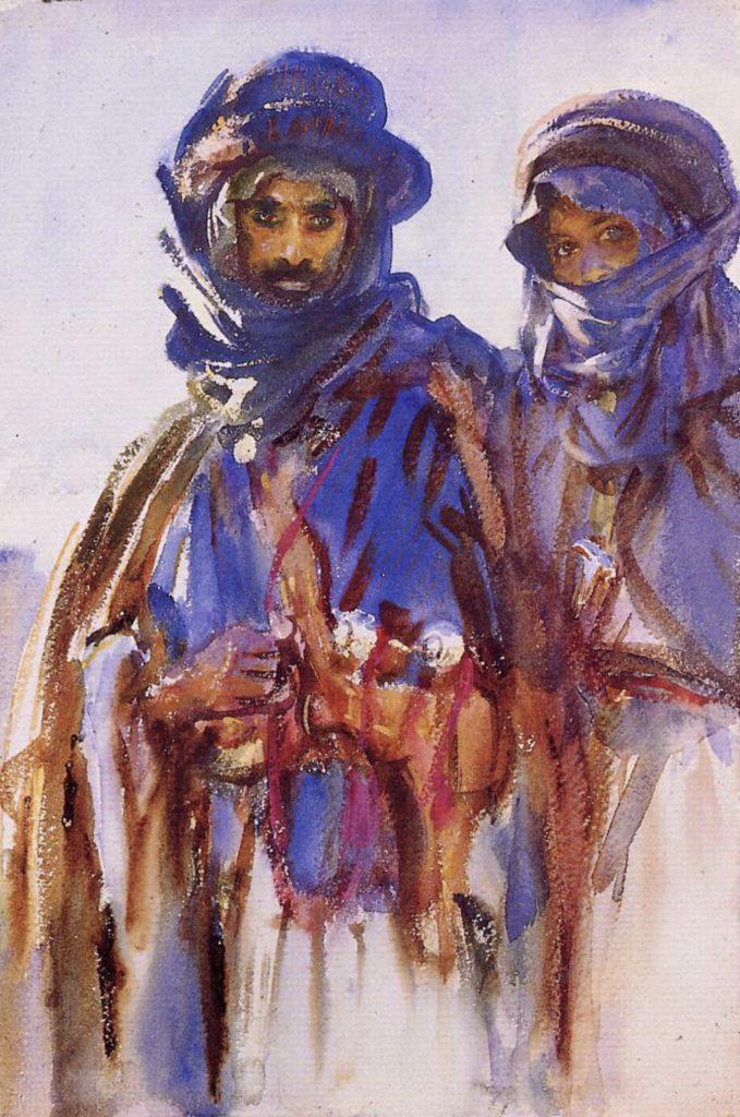 Bedouins par John Singer Sargent