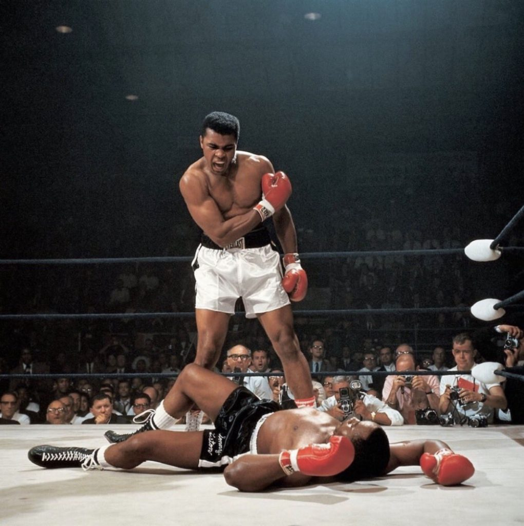 Muhammad Ali, photo de Neil Leifer