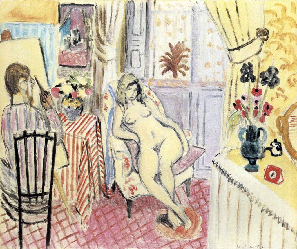 L'artiste et son modèle d'Henri Matisse