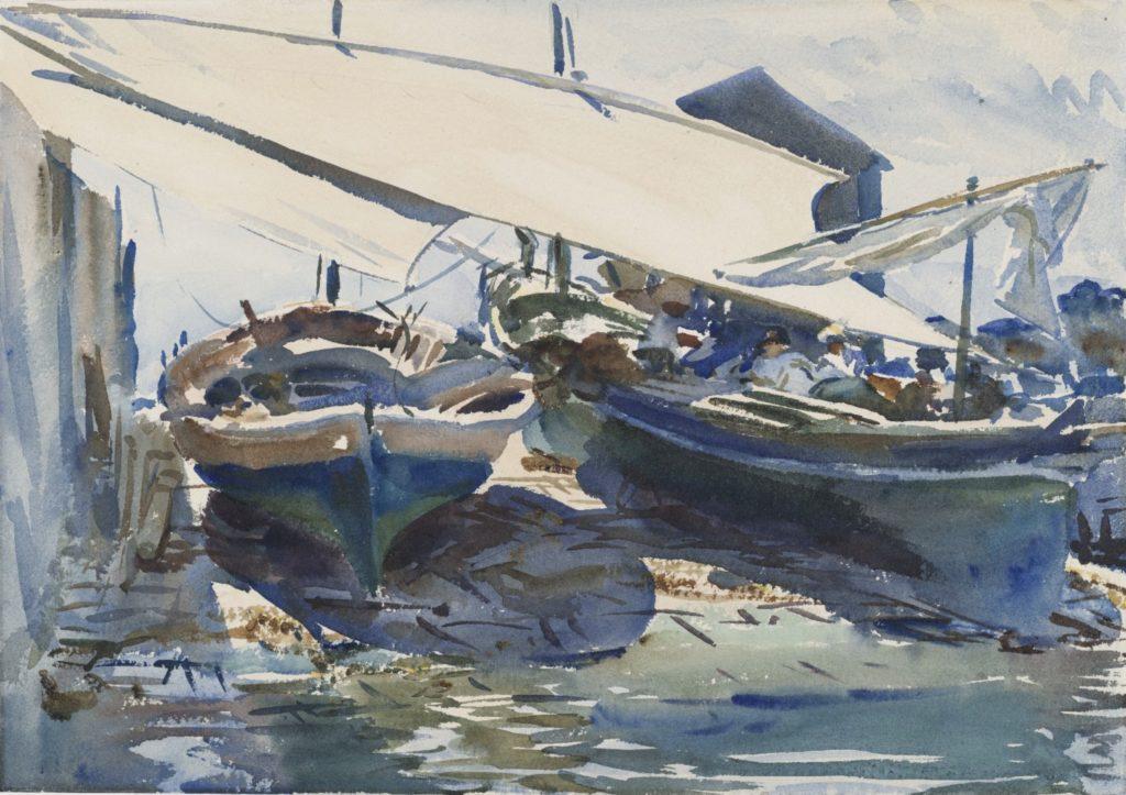Bateaux, par John Singer Sargent