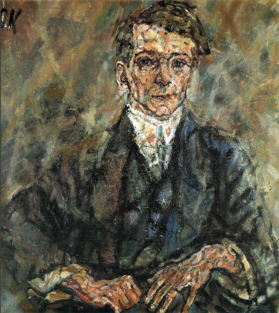 Portrait d'Egon Wellesz par Oskar Kokoschka