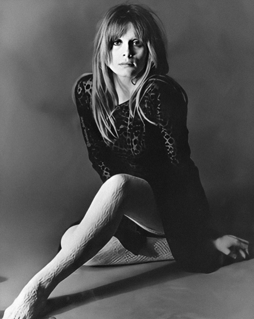 Françoise Dorléac, photo de Terry O'Neill