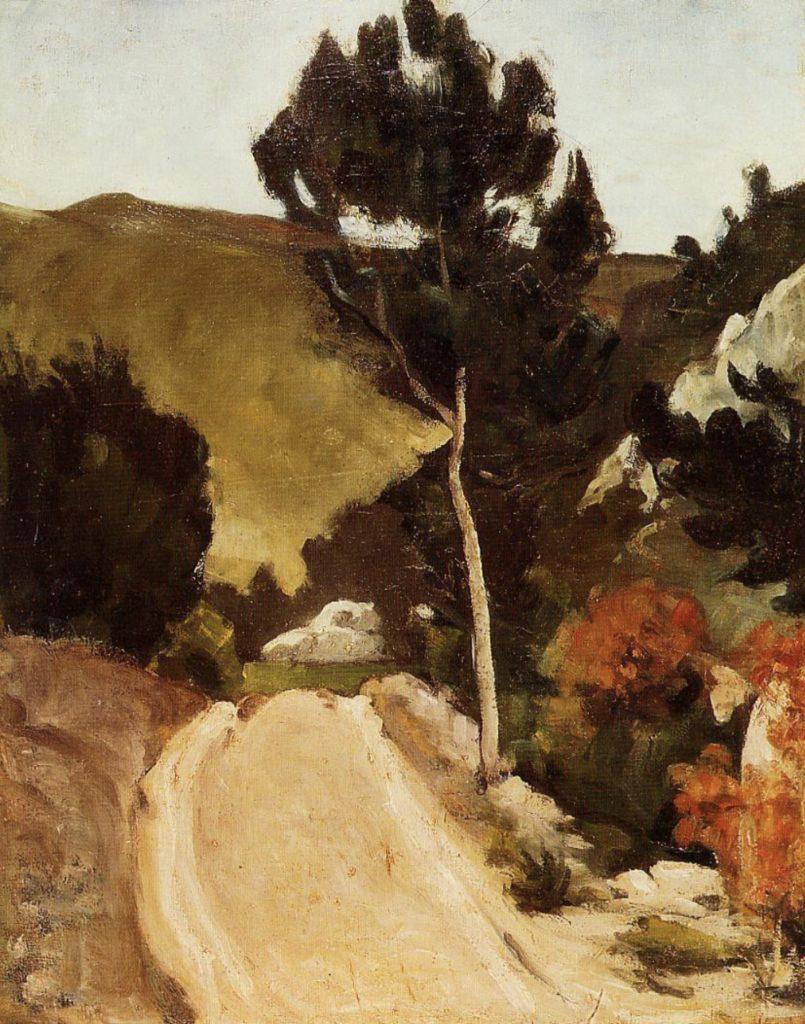Route de Provence de Paul Cézanne