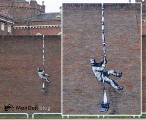 Read more about the article Nouvelle fresque de Banksy ?