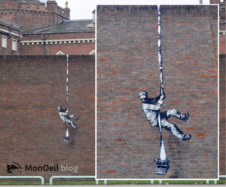 Nouvelle fresque de Banksy ?
