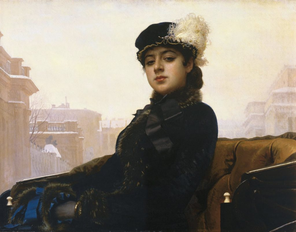 Ivan Kramskoi, portrait de femme