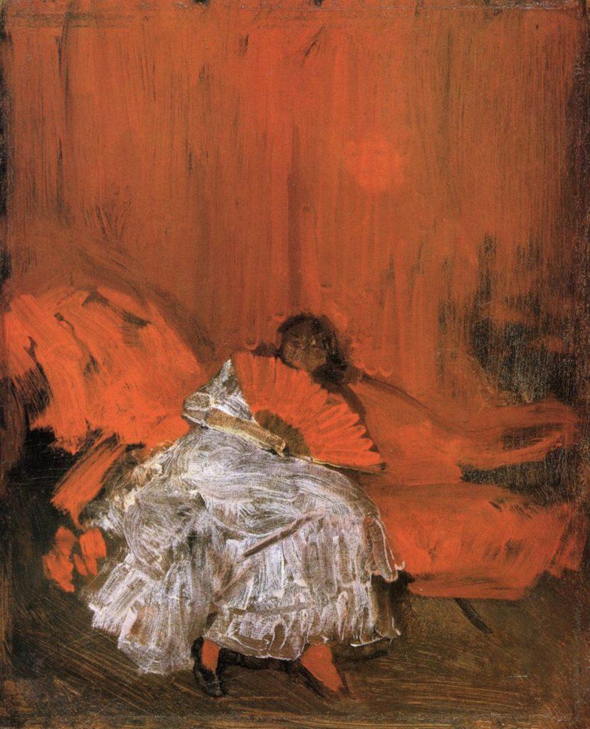 Le petit Méphisto de James Whistler