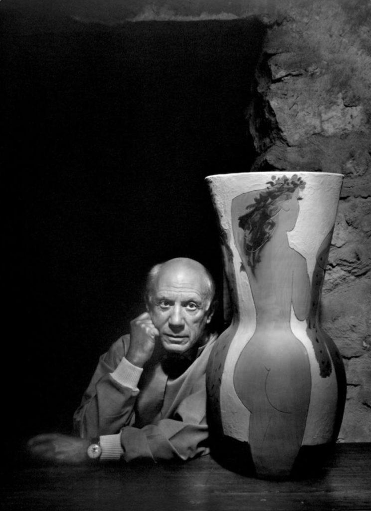 Pablo Picasso par Yousuf Karsh