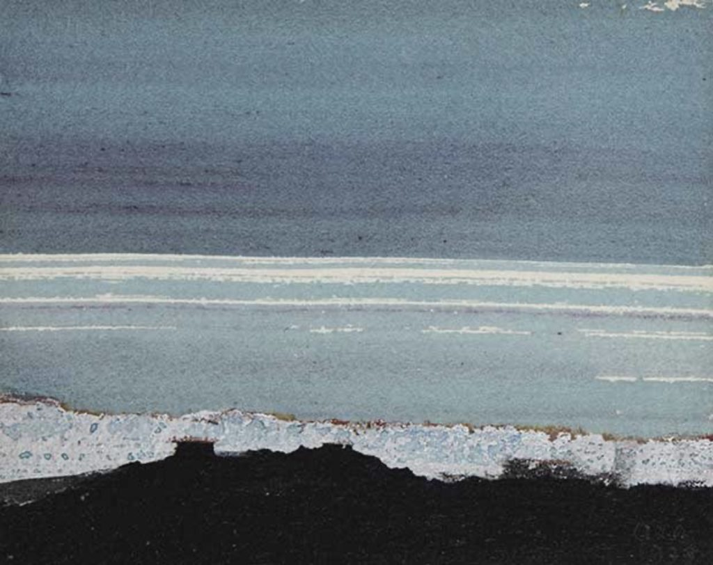 L'océan, tableau d'Anna-Eva Bergman