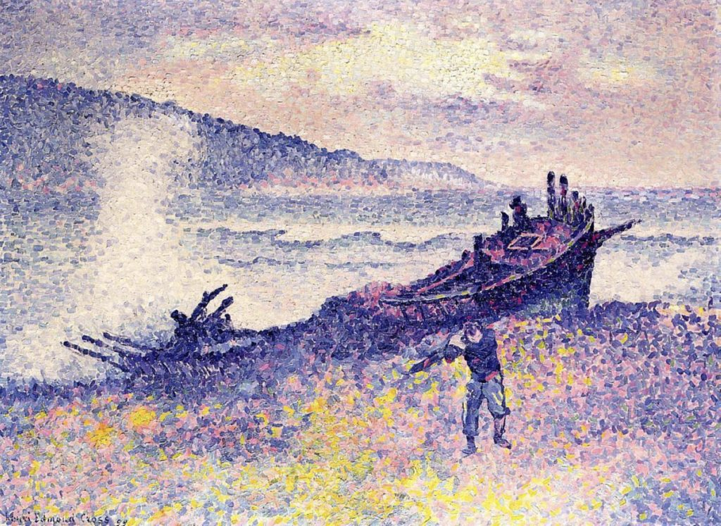 L'épave par Henri-Edmond Cross