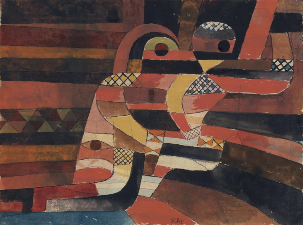Lovers, tableau de Paul Klee