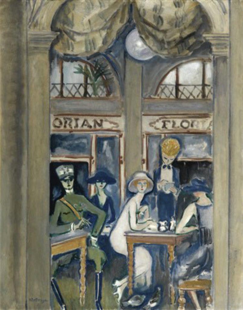 Café Florian, Venise par Kees Van Dongen