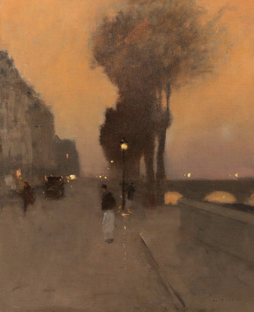 Paris, Quai Bourbon par Luigi Loir