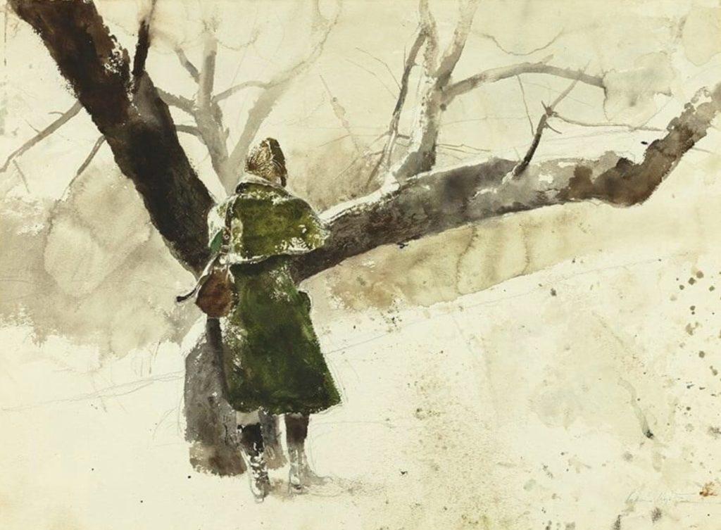Dans le verger d'Andrew Wyeth