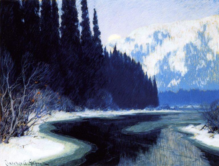 Un courant silencieux du Nord par Clarence Gagnon