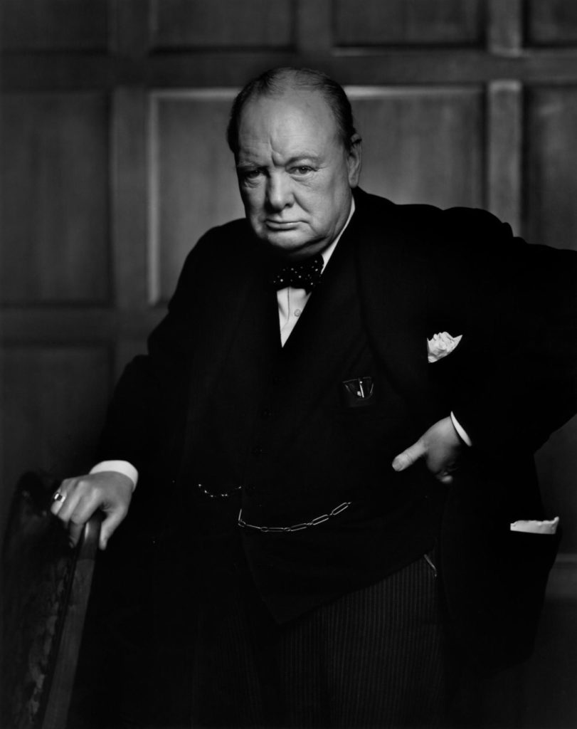 Winston Churchill par Yousuf Karsh