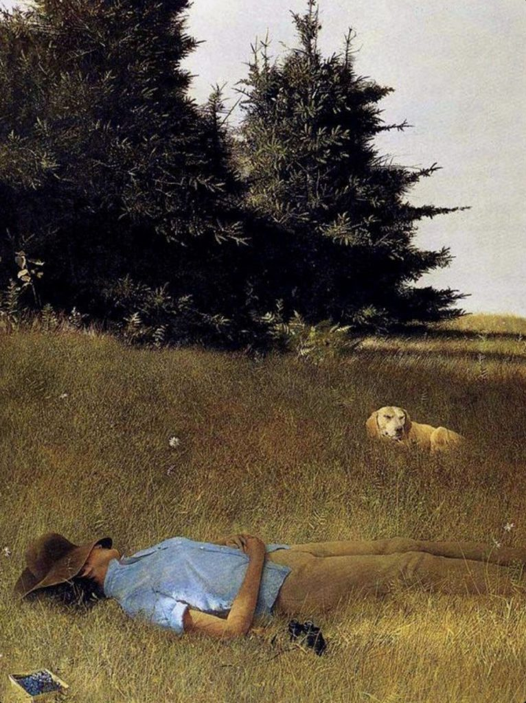 Tonnerre lointain d'Andrew Wyeth