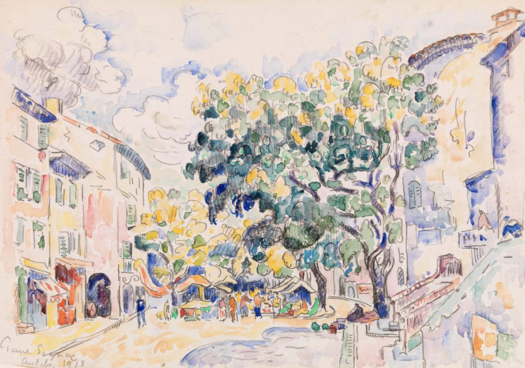Antibes par Paul Signac
