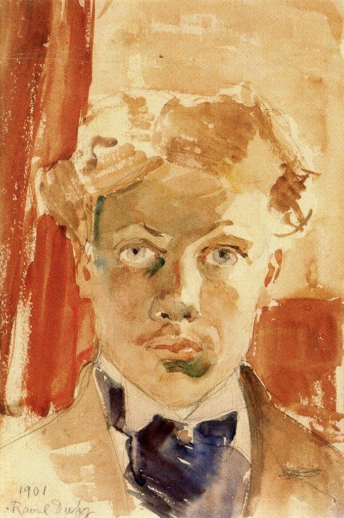 Autoportrait de Raoul Dufy