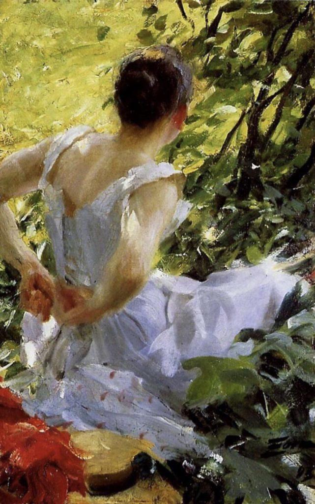 Dans les bois, d'Anders Zorn