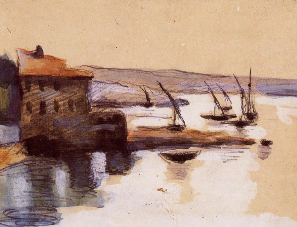 Paysage marin de Paul Cézanne