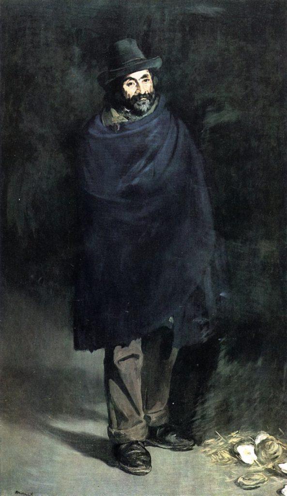 Le philosophe par Édouard Manet