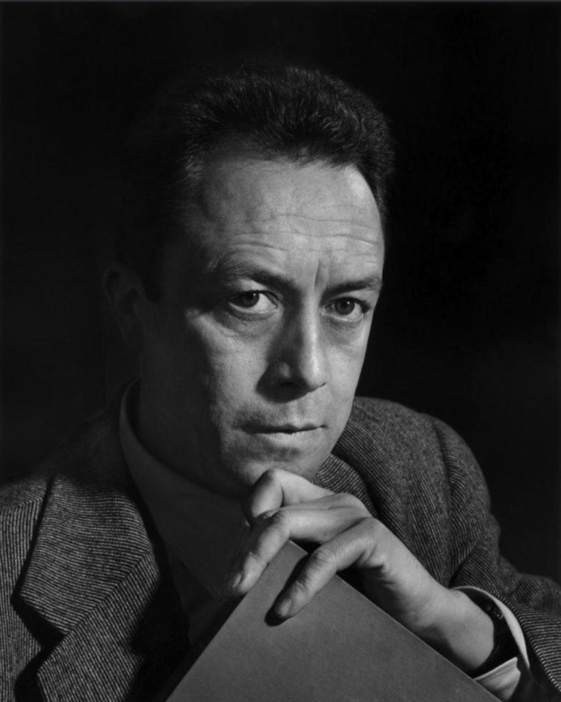 Portrait d'Albert Camus par Yousuf Karsh